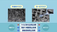 NHK解説マスク